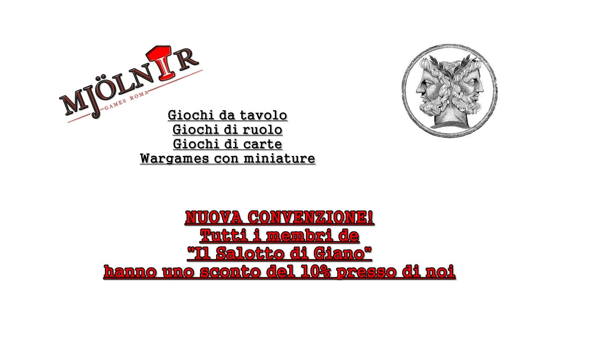 Mjolnir Games Roma